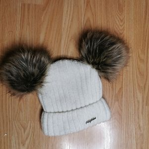 Faux fur winter hat